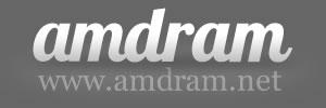Amdram.net - Logo - 300 by 100