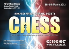 Hinchley Manor Operatic Society - Chess Flyer