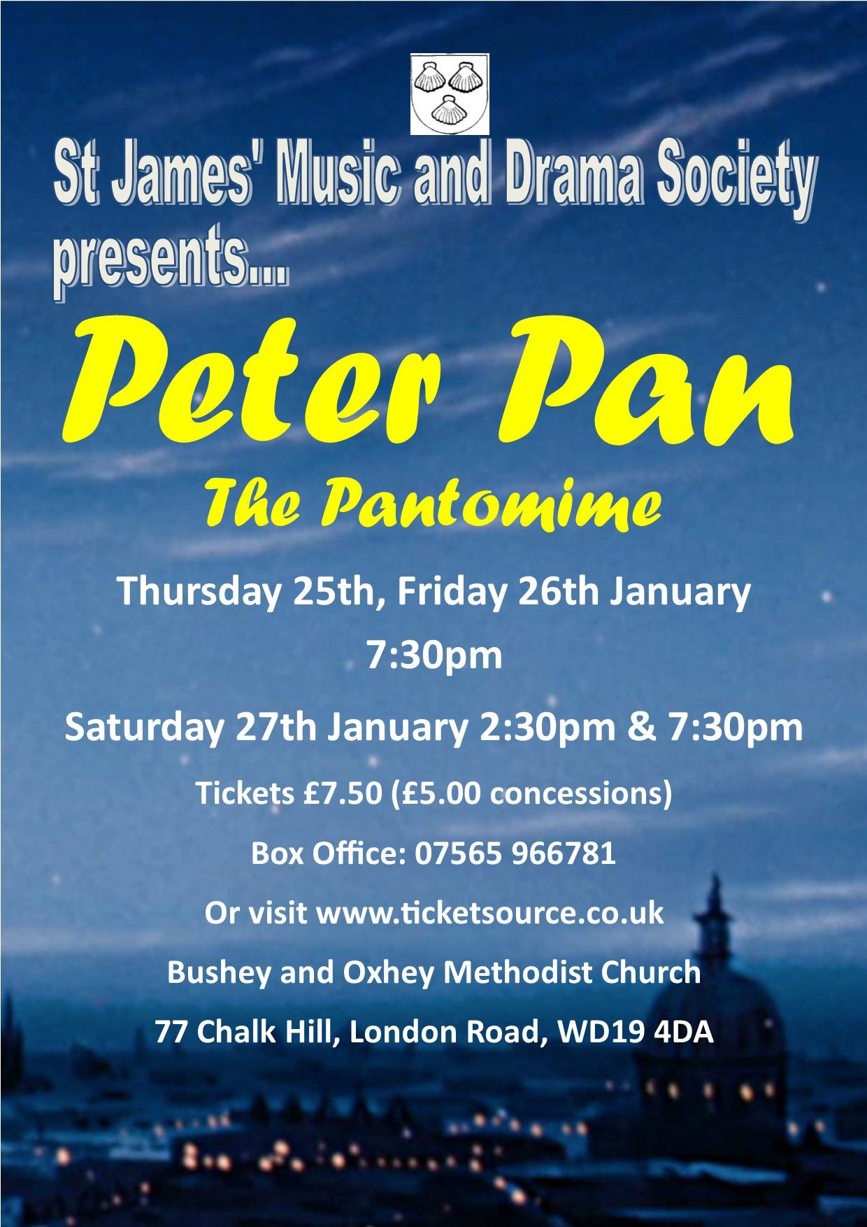Peter Pan the Pantomime!