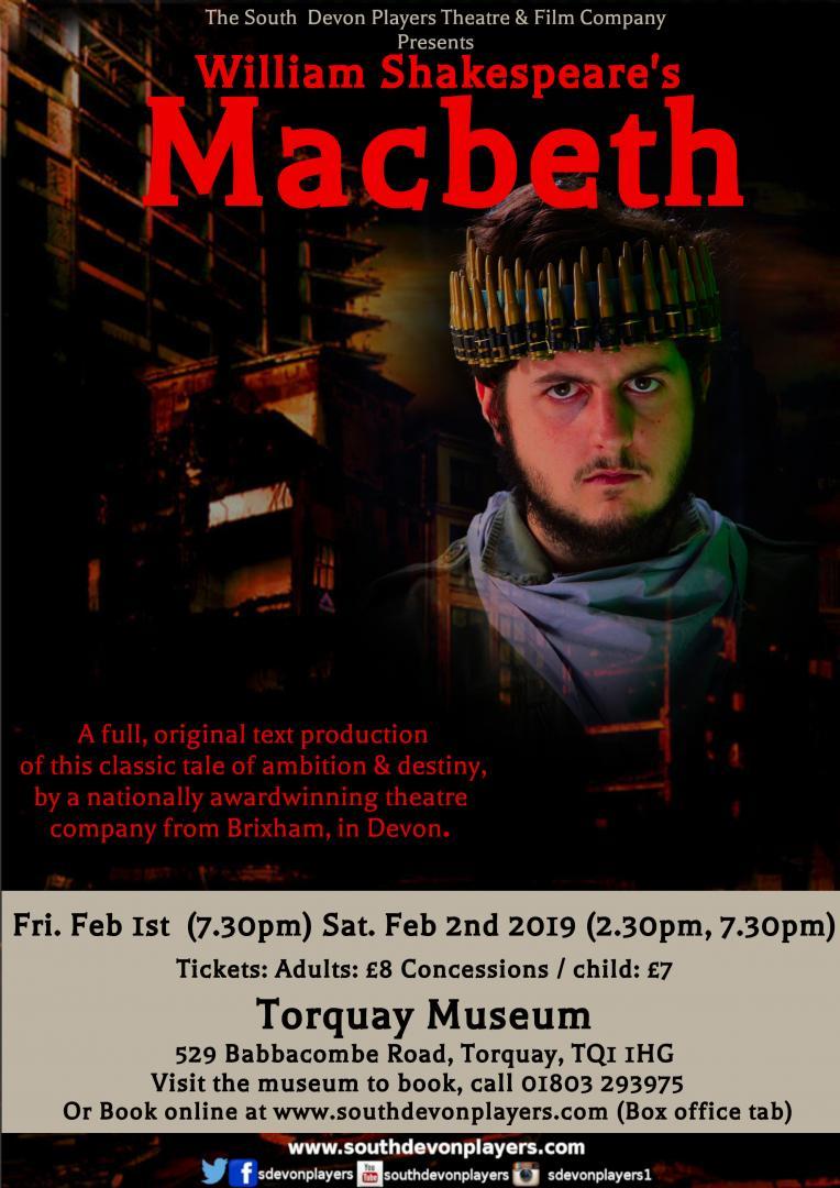 William Shakespeare's Macbeth - Torquay