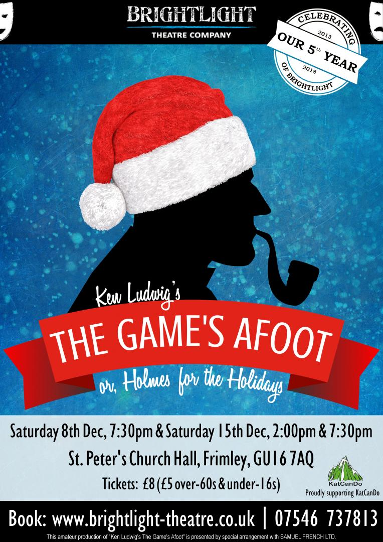 The Game's Afoot - Brightlight Theatre Company